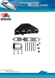 Exhaust Manifold For 4.3 V6 Volvo Penta And Omc Rplc 3857656 3847499