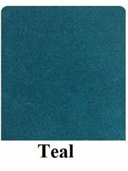 20 Oz Cutpile Marine Outdoor Bass Boat Carpet 1st Quality 8.5and039 X 30and039 Teal