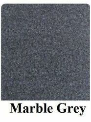 16 Oz Cutpile Marine Outdoor Bass Boat Carpet 1st Quality 8.5and039 X 25and039 Marble Grey