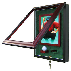 1 Golf Ball 8x10 Photo With Nameplate Display Case - A Fan Favorite