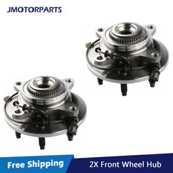 2pcs Front Wheel Hub Bearing Assembly Fits 2005-2008 Ford F150 W/ Abs 4wd 515079