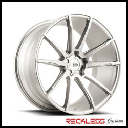 Savini 19 Bm12 Brushed Silver Concave Wheels Rims Fits Dodge Charger Awd