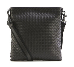 BOTTEGA VENETA Mens Cross Body Messenger Shoulder Bag Espresso 276357 V465C 2066