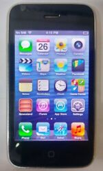 Apple Iphone 3gs 16gb White - A1303 Atandt Unlocked Bad Power Button - Read Below