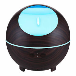 850ML 7 LED Essential Oil Aromatherapy Diffuser Ultrasonic Air Humidifier