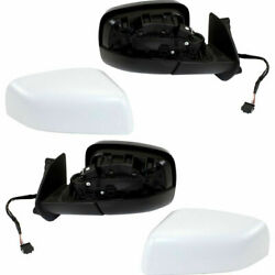 New Set of 2 Pair LH & RH Side Heated Power Mirror Fits 2010-2013 Land Rover LR4