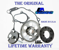 2001 L&A Raptor 660 one Way Starter Clutch bearing  wGear and Puller 2002 2003