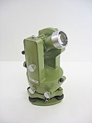 Wild/leica T16 70 Theodolite Transit For Surveying Handle Is Included