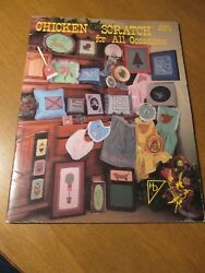 Chicken Scratch For All Occasions 1984 Cross Stitch