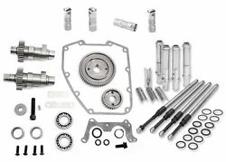 Sands 475g Gear Drive Cams Pushrods Lifters Engine Install Kit Camshafts Harley