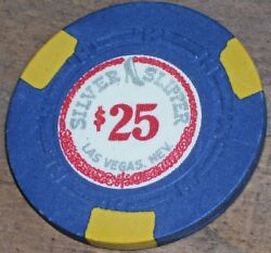 25 Vintage 5th Edt Chip From The Silver Slipper Casino Las Vegas