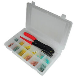 92 Piece Heat Shrink Terminal Kit With Tools For Boats Rvs Automotive And More