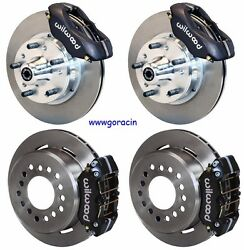 Wilwood Disc Brake Kit1960-72 Dodge And Plymouth A-body With Drum Brake Spindles