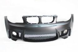 E82 1m Style Front Bumper Bmw 1 Series No Pdc With Fog Lamp 08-13