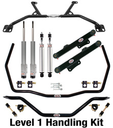 Qa1 Handling Level 1 Suspension Kit - Fits 1979-1989 Ford Mustanggtw/shocks And039