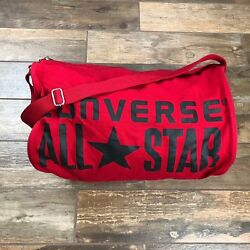 Converse All Star Chuck Taylor Barrel Duffel Gym Travel Bag.    BM66