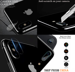 Flexible Soft Tempered Glass Back Lens Camera Protector For All Iphone Cam Pro