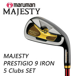 MARUMAN GOLF JAPAN MAJESTY 'PRESTIGIO 9' IRON SET #78910Pw (5 clubs) 2019c