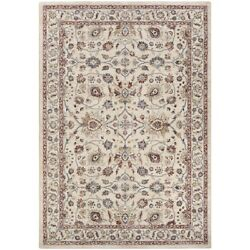 Couristan Monarch Kerman Vase Area Rug Cream/red 3and0393 X 5and0393 - Je456484033053t