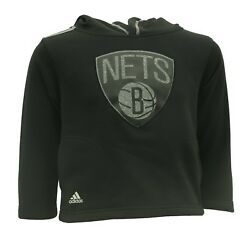Brooklyn Nets Youth Kids Size Official Nba Adidas Sweatshirt New With Tags