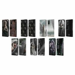 Official Anne Stokes Angels Leather Book Wallet Case Cover For Samsung Phones 1