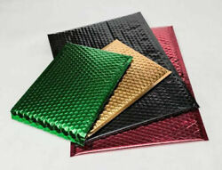 Metallic Bubble Mailers Padded Envelope Bags Choose Your Size Color And Pack