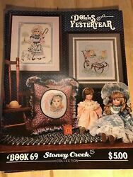 New Crossstitch Patterns/ Booklets Antique Toys Bears And Dolls Your Choice