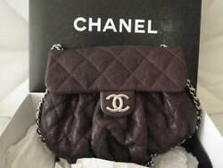 Chanel 2014 Fall Medium Chain Around Lambskin Messenger Bag SOLD OUT NWOT