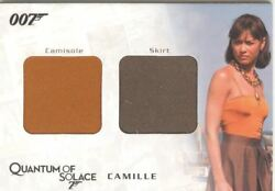 James Bond Archives 2009 Relic / Costume Card Qc01 Camille