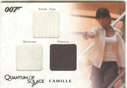 James Bond Archives 2009 Relic / Costume Card Qc05 Camille