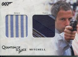 James Bond Archives 2009 Relic / Costume Card Qc14 Mitchell