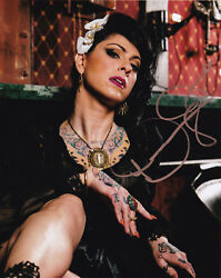 Danielle Colby Signed 8x10 American Pickers History Tv Mike Wolfe Frank Fritz