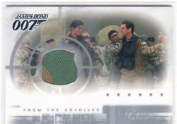James Bond Die Another Day Casetopper Card Ac1 Costume Card