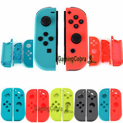 NEW Full Set Cover Shell + Battery Plate  For Nintendo Switch Joy-Con NS Gamepad
