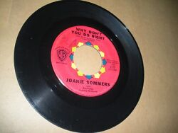 Why Don't You Do Right/be My Love Joanie Sommers Vg/vg+ 1960 Red Label Popcorn