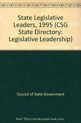 State Legislative Leadership Committees And Staff 1995 Csg State Directory Direc