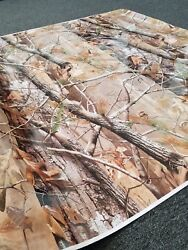 Tall Tree Camouflage Vinyl Wrap Glossy Vehicle Wrap For Car Truck And Boat