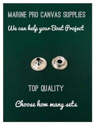 Snap Fasteners Stainless Steel Eye And Stud Dot Marine Quality Choose Your Set