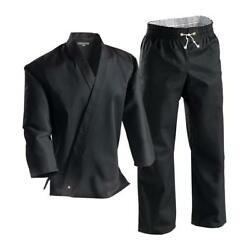 Century Black 8oz Middleweight Uniform Gi With Contact Pants Size 5 New