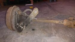 1979 Triumph Spitfire 1500 Right Rear Axle And Drum Brake Assembly