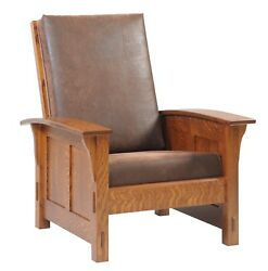 Custom Made | Mission Arts And Crafts | Stickley Style | Morris Chair | Usa Made
