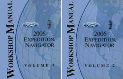 2006 Ford Expedition Lincoln Navigator Shop Service Repair Manual