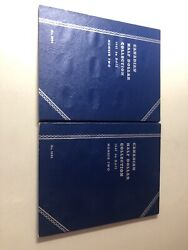 2 Canadian Half Dollar Whitman Folders 1961-date With 30 Unmarked Slots 9094