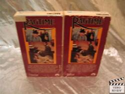 Ragtime 2 Tape Vhs James Cagney Brad Dourif Moses Gunn Paramount Home Video