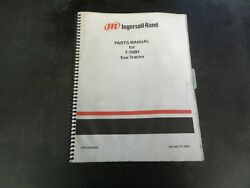 Ingersoll Rand T-708h Tow Tractor Parts Manual