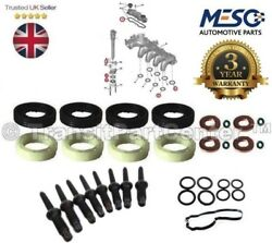 Injector Seal Washer Oring Set Fits Mini R56 One D Cooper Clubman R55 1.6 2006 +