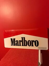 1992 Marlboro Cigarettes Plastic Sign Lighted Sign Cover Philip Morris Very Nice