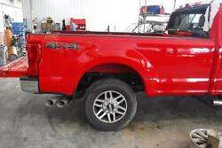 2017 2018 2019 Ford F250 F350 8and039 Foot Truck Bed Box Aluminum Red [paint Code Pq]