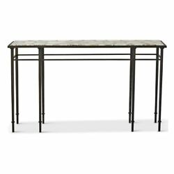 Genuine Agate Stone Console Table  Iron White Natural Slice Hall Entry Sofa