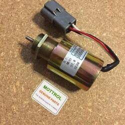 Stop Solenoid 30a87 For Mahindra Max 28 Tractor Fits For Mitsubishi S3l2 Engine